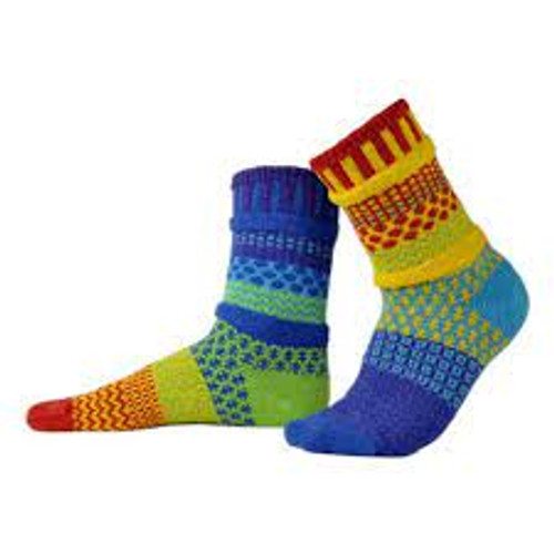 Fun, Colorful, Eco-friendly and American Made Socks - Rainbow