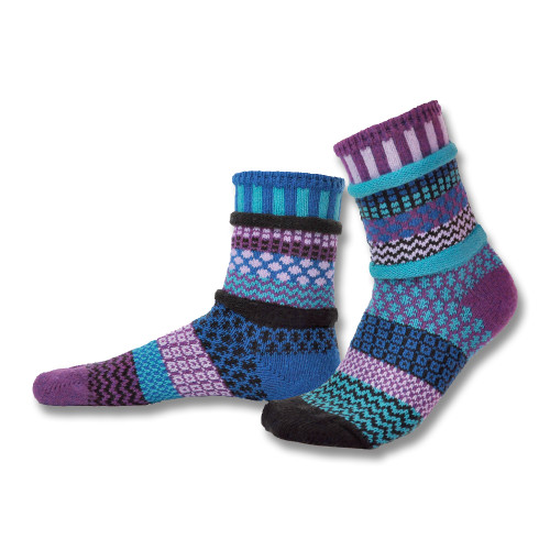 Fun, Colorful, Eco-friendly and American Made Socks - Raspberry