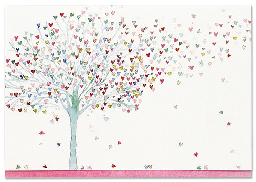 Tree of Hearts Note Cards