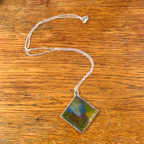 Primary Paints Resin Necklace