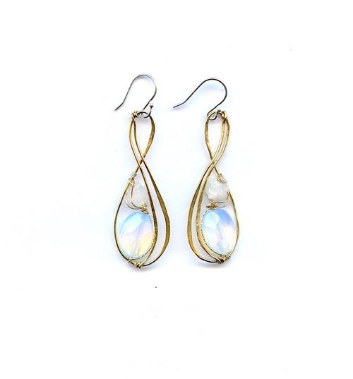 Crystal Eternity Earrings