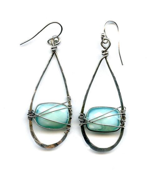 Crystal Swing Earrings