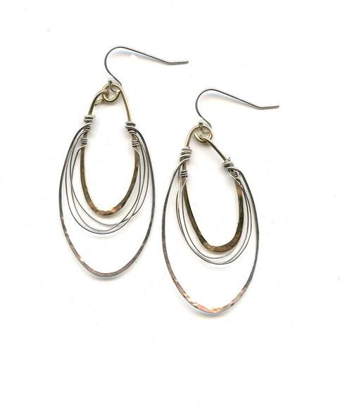 Radio Style Hoop Earrings