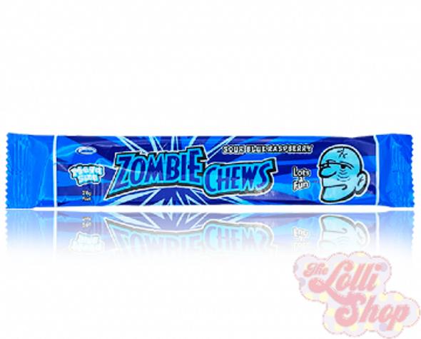 Zombie Chews Sour Blue Raspberry 28g