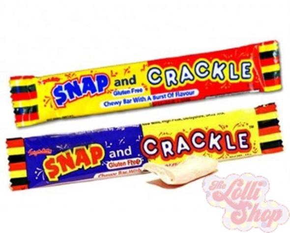 Swizzels Snap and Crackle Chew Bar 18g