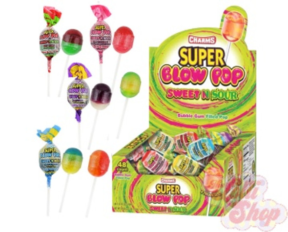 Charms Super Blow Pop Sweet n Sour 35g