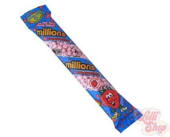 Millions Tube Strawberry UK 60g