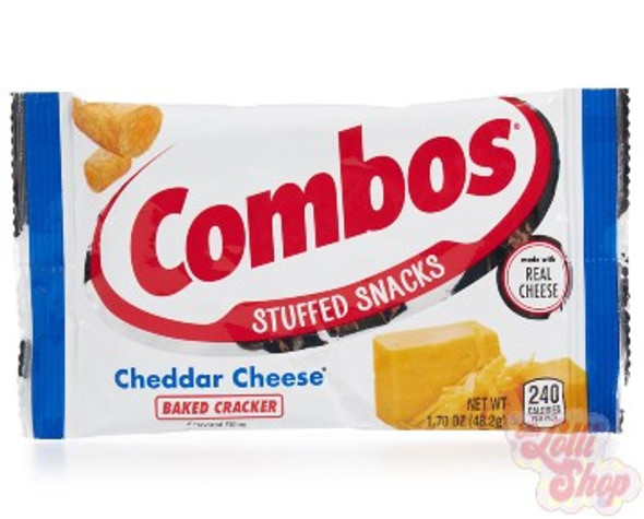 Combos Cheddar Cheese Baked Cracker 48.2g