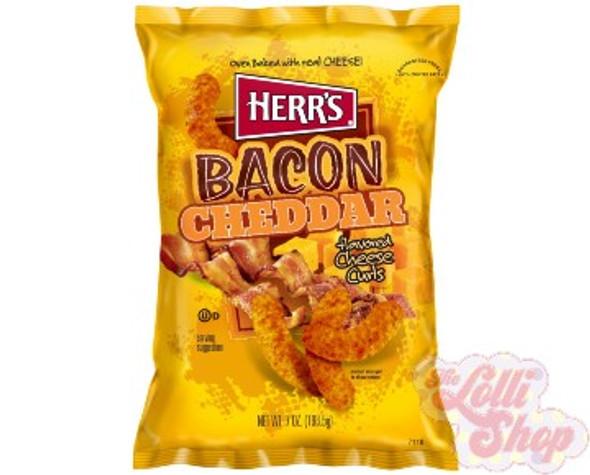 Herr's Bacon Cheddar 198.5g