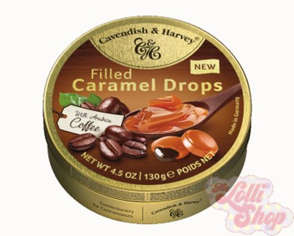 Cavendish & Harvey Caramel Drops with Coffee 130g