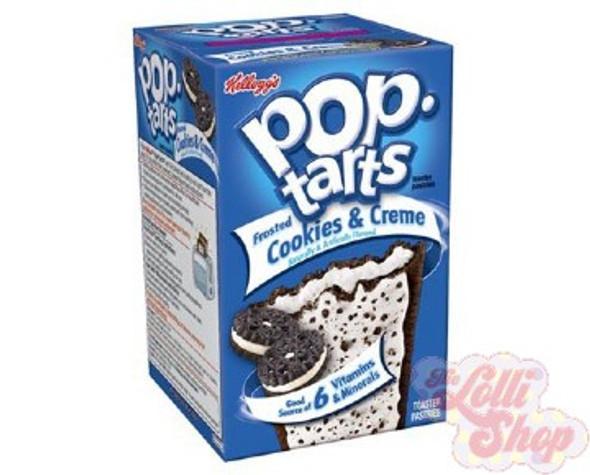 Pop Tarts Cookies & Creme 384g - Box of 8