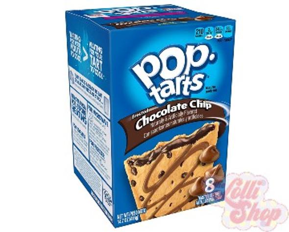 Pop Tarts Chocolate Chip 384g - Box of 8