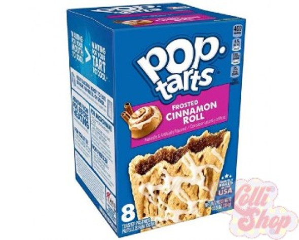 Pop Tarts Cinnamon Roll 384g - Box of 8