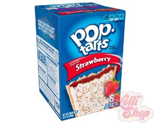 Pop Tarts Strawberry 416g - Box of 8