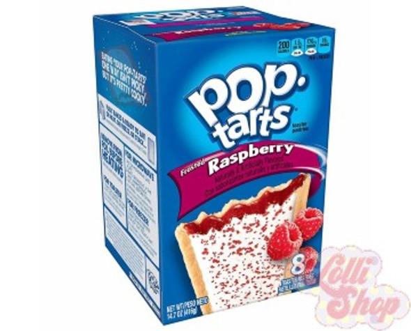 Pop Tarts Raspberry 416g - Box of 8