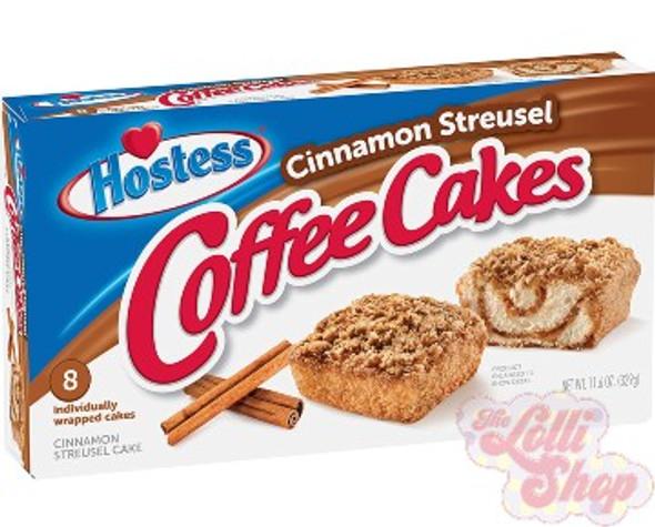 Hostess Cinnamon Streusel Coffee Cake - Box of 8