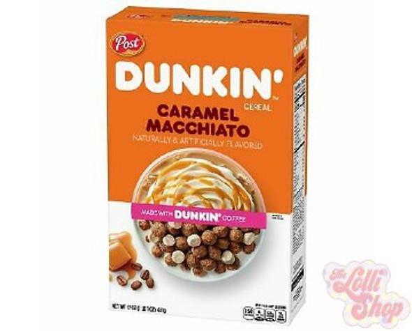 Dunkin Caramel Macchiato Cereal 311g