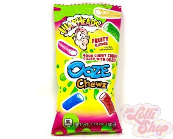 Warheads Ooze Chewz 50g