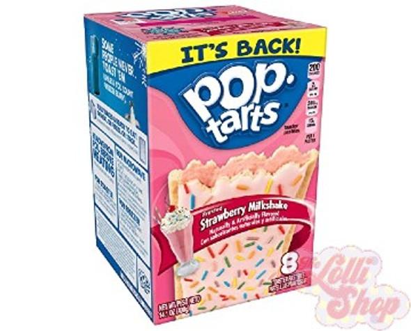 Pop Tarts Strawberry Milkshake 400g - Box of 8