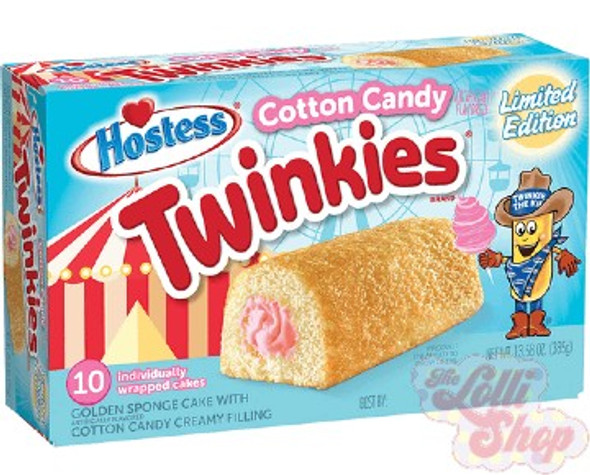 Hostess Cotton Candy Twinkies - Box of 10
