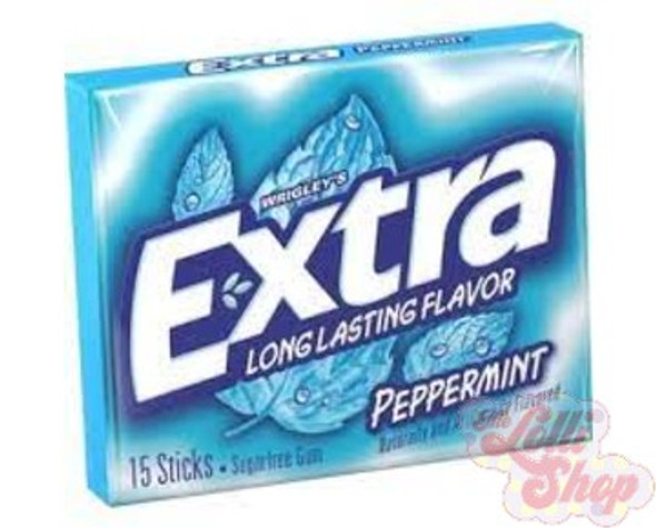 Extra Peppermint 15 Sticks