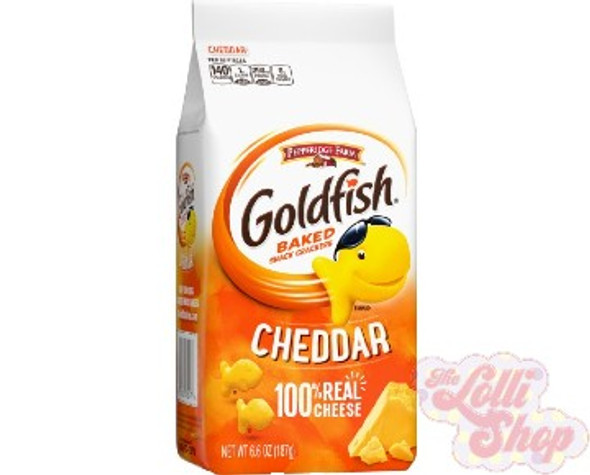 Goldfish Cheddar Cheese Crackers 187g