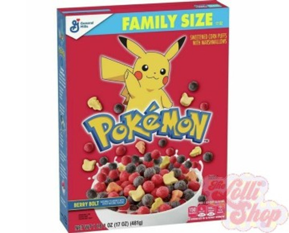 Pokemon Berry Bolt Cereal 481g