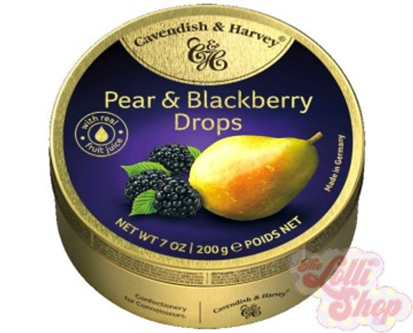 Cavendish & Harvey Pear & Blackberry Drops 200g