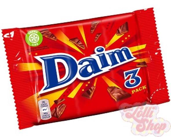 Daim Bar 3 pack 84g