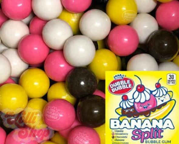 Dubble Bubble Banana Split Gumballs 100g