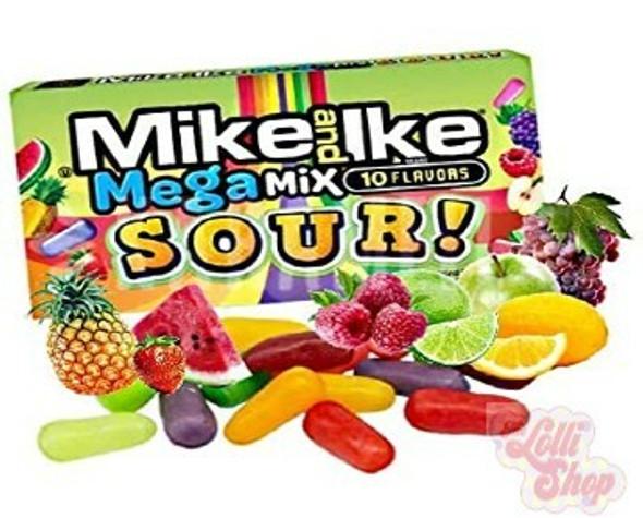 Mike & Ike Mega Mix Sour 100g