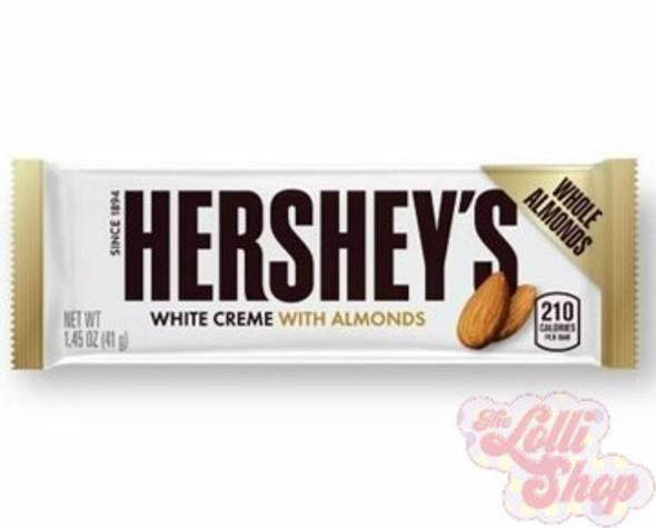 Hershey's White Choc Almond 41g