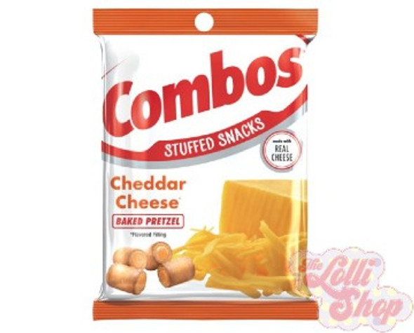 Combos Cheddar Cheese Baked Pretzels 178g