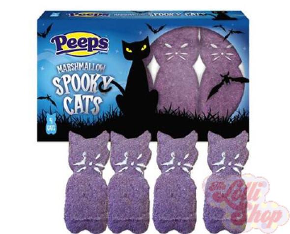 Peeps Marshmallow Spooky Cats 4pk