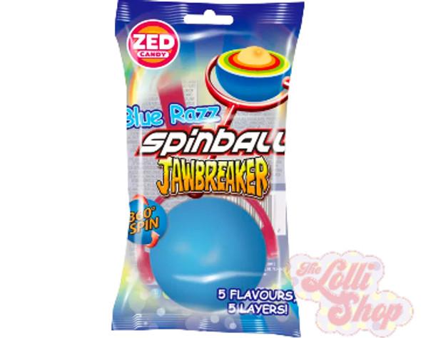Zed Blue Razz Spinball Jawbreaker 55.5g