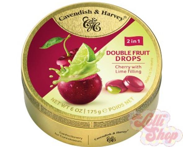Cavendish & Harvey Duo Cherry & Lime 175g