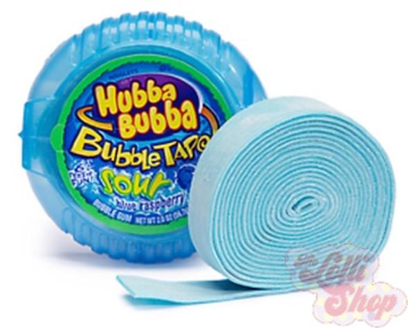 Hubba Bubba Sour Blue Raspberry Tape