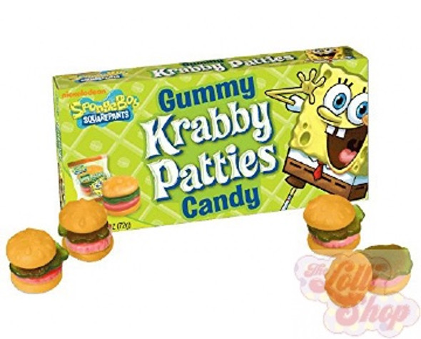 SpongeBob Gummy Krabby Patties 72g
