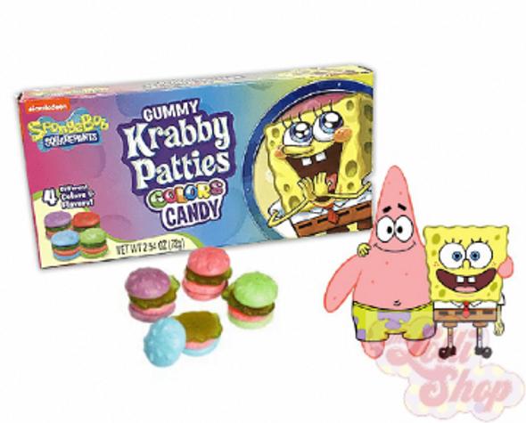 Spongebob Gummy Krabby Patties Colors 72g