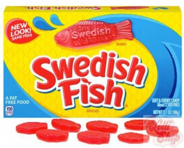 Swedish Fish RED Video Box 88g