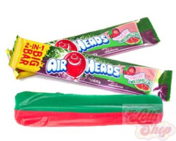 Airheads Big Bar Strawberry & Watermelon 42g