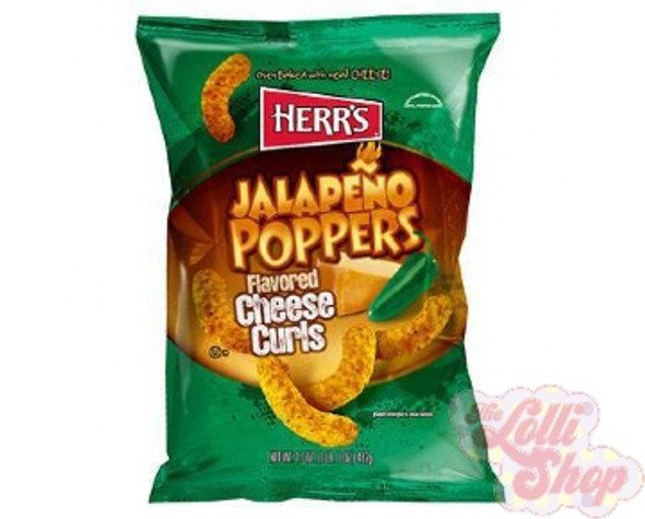 Herr's Jalapeño Cheese Curls 198.5g