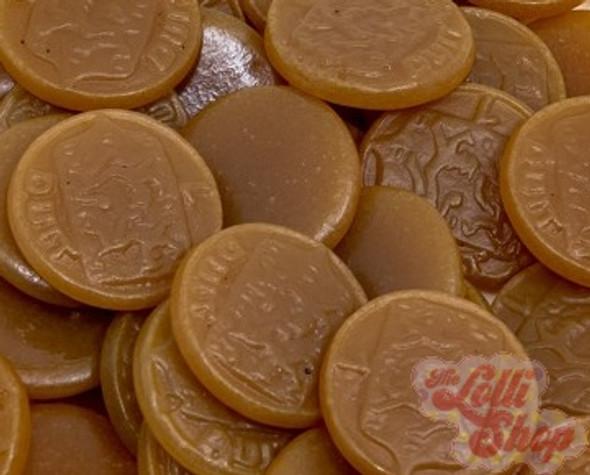 Dutch Brown Coins Licorice - K&H