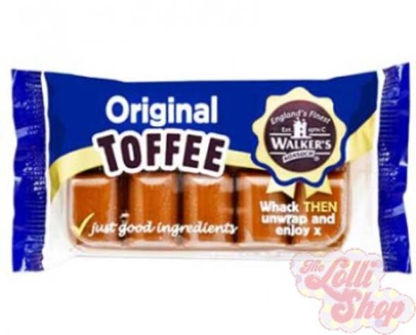 Walkers Original Toffee 100g
