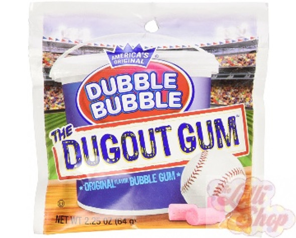 Dubble Bubble Dugout Gum 64g