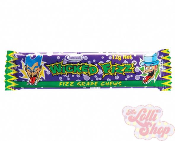 Wicked Fizz Grape Chews
