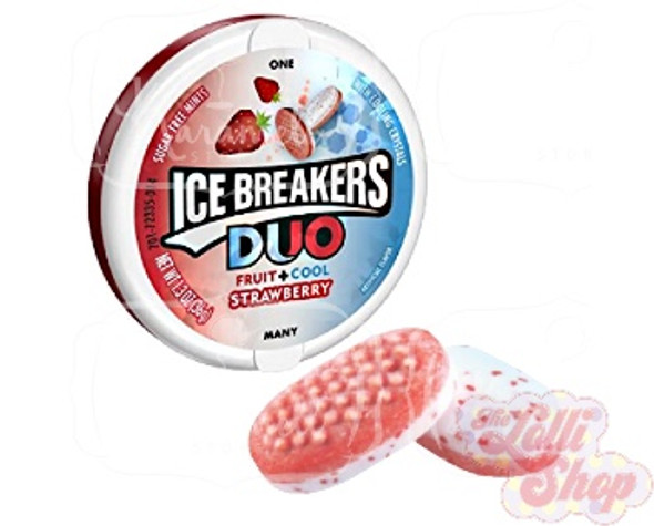 Ice Breakers Duo Mints Strawberry 36g