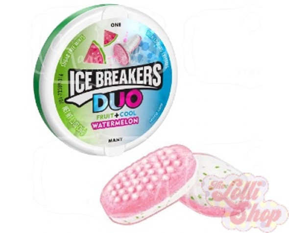 Ice Breakers Duo Mints Watermelon 36g