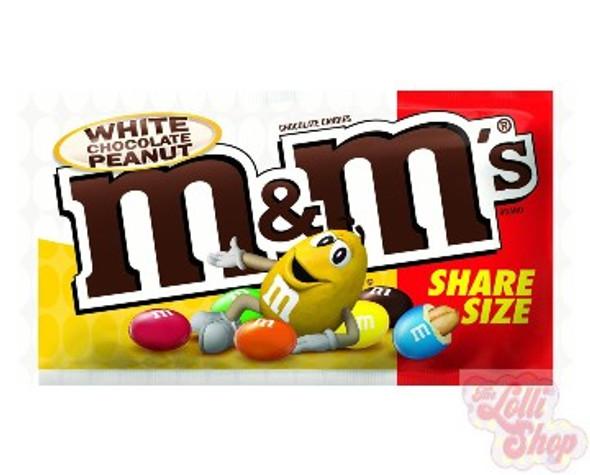 M&M's White Choc Peanut 79.4g