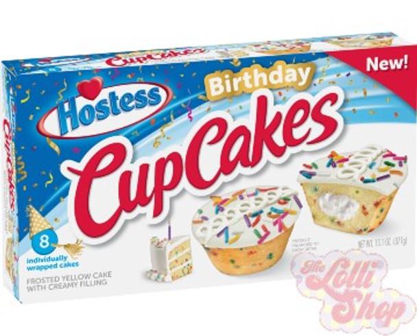 Hostess Birthday Cup Cakes - Box of 8